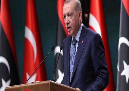 إردوغان: اتفقت مع ترامب على بعض القضايا بشأن ليبيا وحفتر خارج المشهد