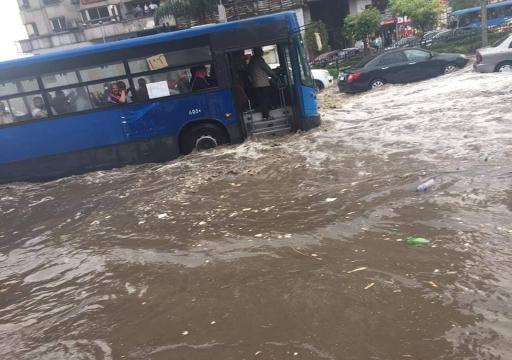الحكومة المصرية تعلن وفاة 20 شخصاً بسبب الأمطار الغزيرة
