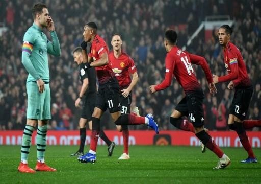 مانشستر يونايتد يكتسح آلكمار الهولندي برباعية في الدوري الأوروبي