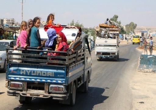 أردوغان: نحو 250 ألف شخص يفرون من إدلب السورية باتجاه تركيا