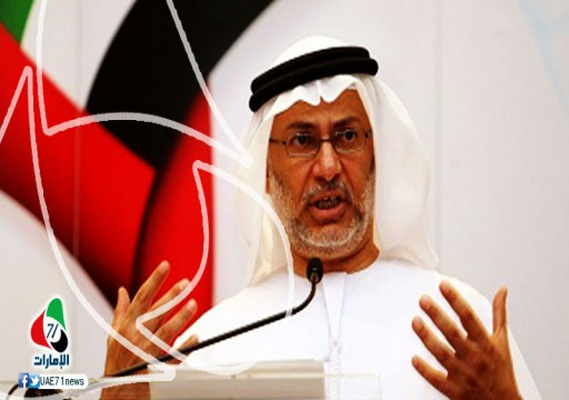 أبوظبي تمارس ذات اللعبة.. قرقاش ينتقد سياسات الدوحة