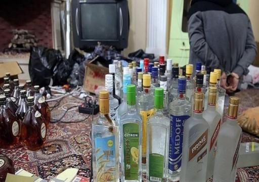 إيران.. ارتفاع وفيات المشروبات الكحولية المغشوشة إلى 33