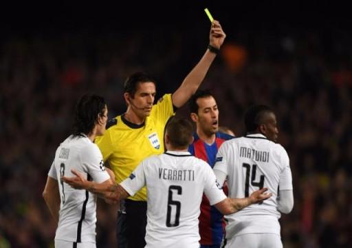 """الاتحاد الأوروبي يعترف بأخطاء حكم """"ريمونتادا"""" برشلونة أمام سان جيرمان"""