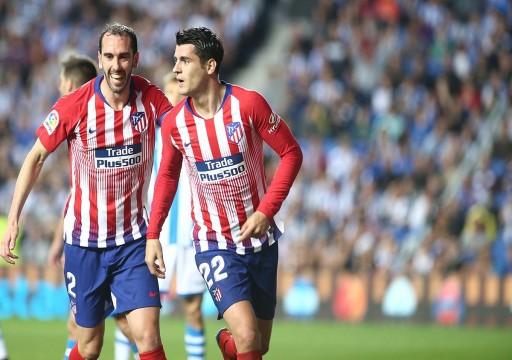 أتلتيكو يواصل مطاردة برشلونة على قمة الدوري الإسباني