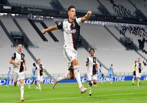 يوفينتوس يقترب من لقب جديد بفوزه على لاتسيو من الدوري الإيطالي