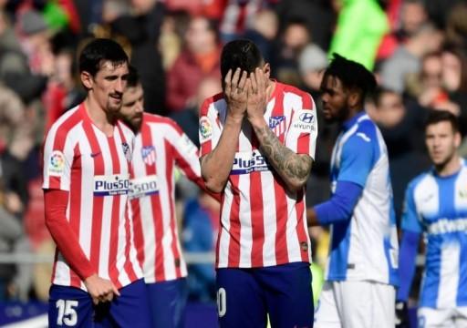 أتلتيكو يواصل ترنحه بتعادل سلبي مع ليغانيس في الدوري الإسباني