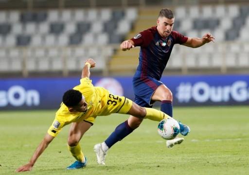 الوحدة ينتزع تعادلًا من الوصل في منافسات الجولة السابعة من دوري الخليج