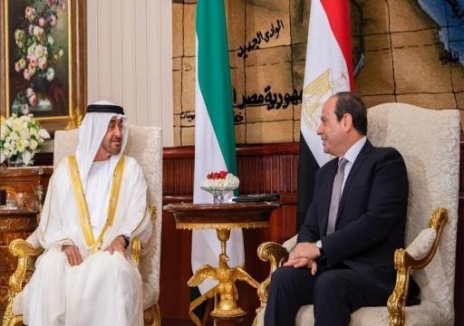 """مراقبون اعتبروها """"غير ناجحة"""".. زيارة مفاجئة لمحمد بن زايد للقاهرة"""
