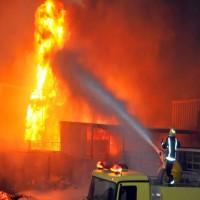 حريق يلتهم ثلاثة طوابق في كنيسة شمالي القاهرة