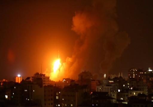 جيش الاحتلال: قصفنا مُجمّعين عسكريين لـمنظومة حماس الجوية في غزة