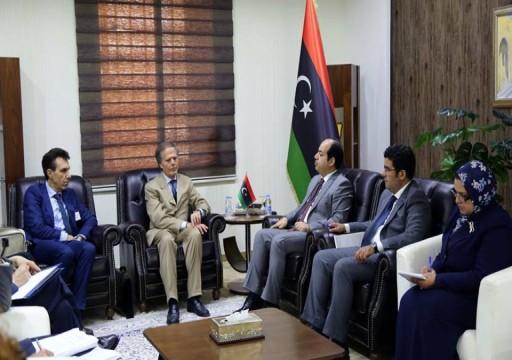 وزير خارجية إيطاليا يبدأ زيارة إلى العاصمة الليبية طرابلس