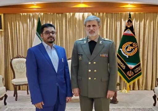 الحوثيون يعلنون بحث التعاون العسكري مع إيران