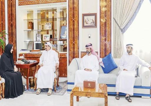 حميد بن راشد: المواطنة الإماراتية جديرة بتحمل المسؤولية