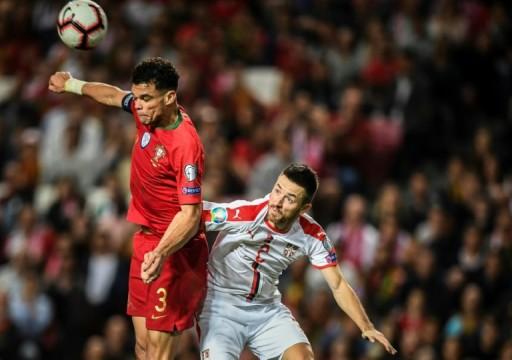 البرتغال تخسر بيبي في تصفيات كأس أوروبا