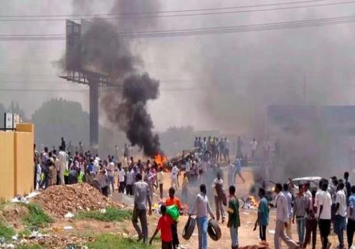إصابة معتصمين في الخرطوم برصاص القوات السودانية