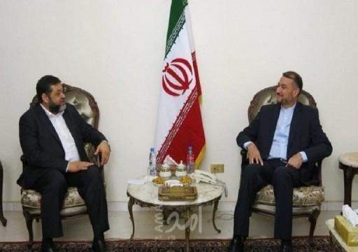 وفد من حماس يلتقي مسؤولًا إيرانياً في بيروت