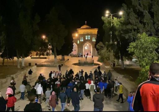 عودة الصلاة في المسجد الأقصى المبارك بعد شهرين من الإغلاق