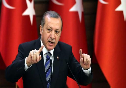 """أردوغان يحذر من """"ثمن باهظ"""" إذا تعرضت سفينة تركية في شرق المتوسط لهجوم"""