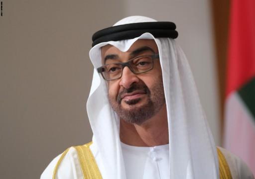 ولي عهد أبوظبي يتشاور مع عدد من رؤساء الدول  بشأن مواجهة «كورونا»