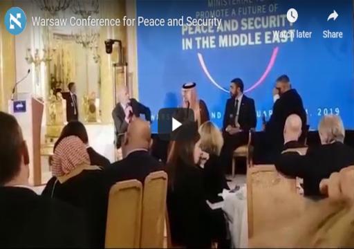 عبدالله بن زايد يعترف بحق إسرائيل في الدفاع عن نفسها من خطر إيران