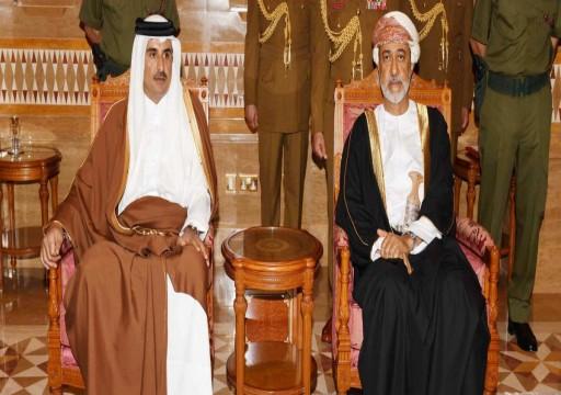 سلطان عُمان يهاتف أمير قطر والعاهل السعودي
