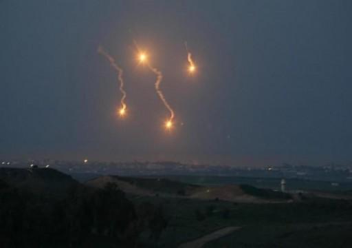 إصابة 4 فلسطينيين في غارات الاحتلال الإسرائيلي على قطاع غزة