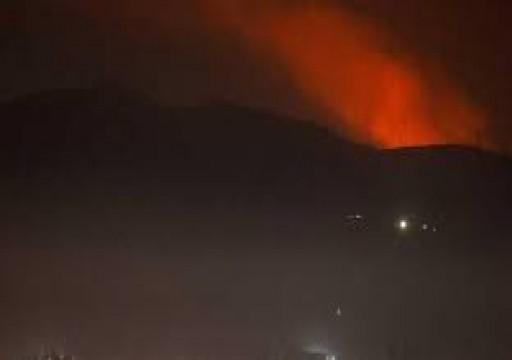 النظام السوري يقول إن طائرات إسرائيلية هاجمت قاعدة جوية في حمص