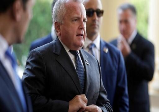 الشيوخ الأمريكي يدعم تعيين جون ساليفان سفيرا لواشنطن لدى موسكو