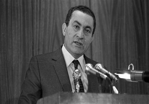 وفاة الرئيس المصري المخلوع حسني مبارك