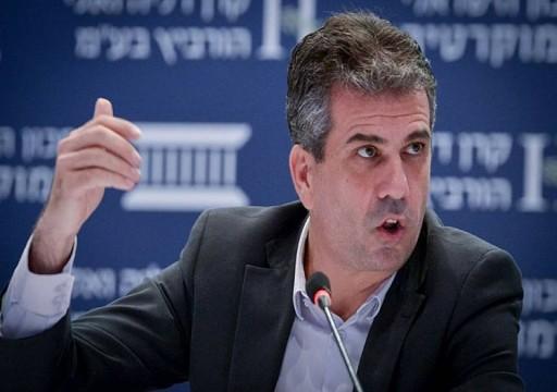 صحيفة سعودية تجري حوارا مع وزير الاستخبارات الإسرائيلي الجديد