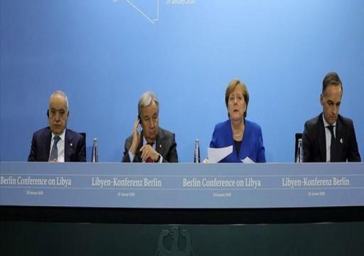 مؤتمر برلين حول ليبيا يقر خطة شاملة لإنهاء القتال