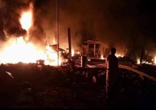 مقتل 60 جندياً في هجوم للحوثيين على معسكر في مأرب اليمنية
