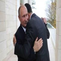 الأسد يلتقي بوتين في سوتشي الروسية