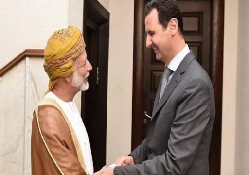 وزير خارجية عمان يلتقي الأسد في زيارة مفاجئة إلى دمشق