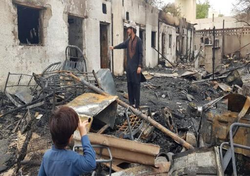 وفاة 6 آسيويين وإصابة 2 بحريق سكن شعبي في العين