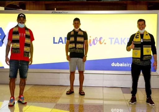 فابيو ليما الوصل والثلاثي الأجنبي يصلون دبي