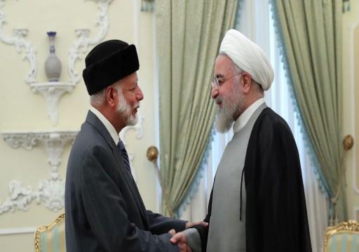 الرئاسة الإيرانية: يوسف بن علوي لم يحمل أي رسالة إلينا