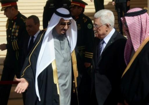 العاهل السعودي وعباس يبحثان خطة تحرك عاجلة حيال تعهدات نتنياهو الأخيرة