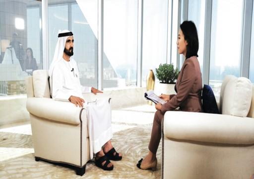 دبي بين التلفزيون الصيني والفرنسي.. يد محمد بن راشد تبني ومعول الأمن يهدم!
