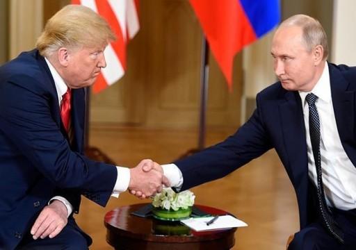 الكرملين ينفي تخطيط بوتين للتوجه لنيويورك ولقاء ترامب