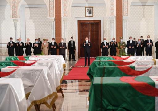 بعد 170 سنة من وفاتهم.. جنازة رسمية لمقاومين جزائريين ضد الاستعمار الفرنسي