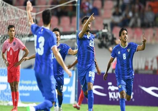الكويت تتغلب على نيبال في تصفيات آسيا لمونديال 2022