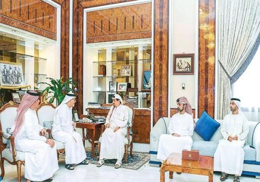 حاكم عجمان يشيد بصندوق خليفة لدعم وتمكين الشباب
