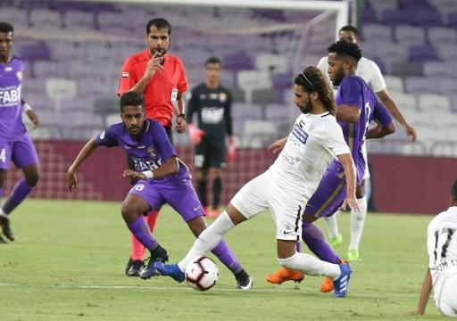 العين يفتقد بندر وفايز أمام عجمان في الجولة التاسعة من الدوري