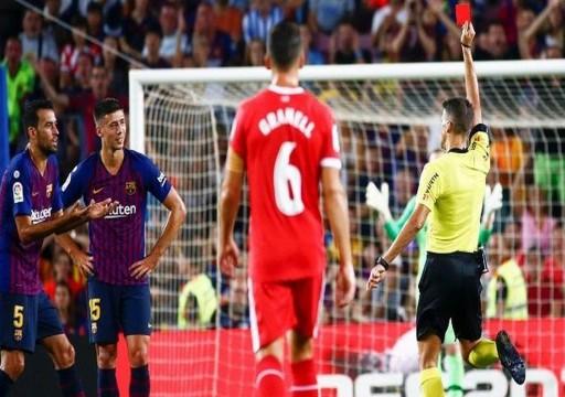 برشلونة ضد أتلتيك بلباو.. 3 أزمات شهيرة لحكم المباراة مع رفاق ميسي