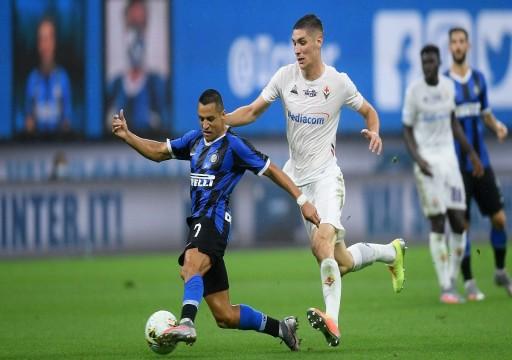 فيورنتينا يفرض التعادل على إنتر ميلان في الدوري الإيطالي