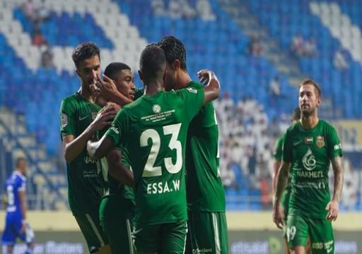 الأهلي دبي يعبر النصر بثنائية والوحدة يتعادل مع بني ياس