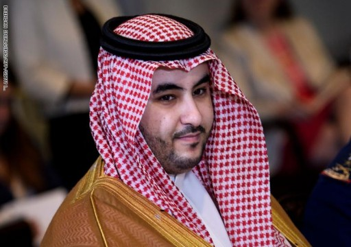 نائب وزير الدفاع السعودي يلتقى إسبر ويبحث معه التحديات في المنطقة