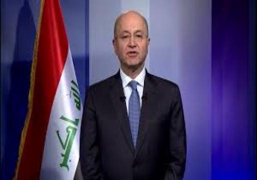 الرئيس العراقي يكلف رئيس المخابرات بتشكيل حكومة جديدة