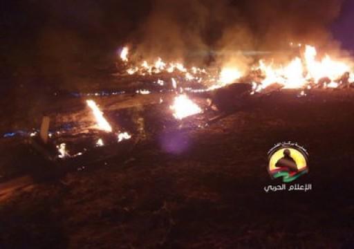 بالفيديو.. قوات الوفاق تعلن إسقاط طائرة إماراتية مسيرة في مصراتة